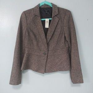 Nwt Ann Taylor wool blazer size 6